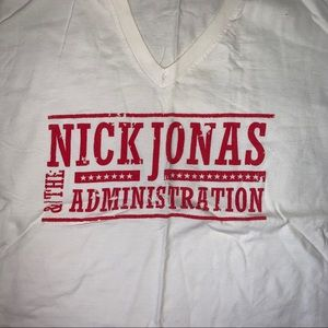Tops - Nick Jonas and the Administration t shirt